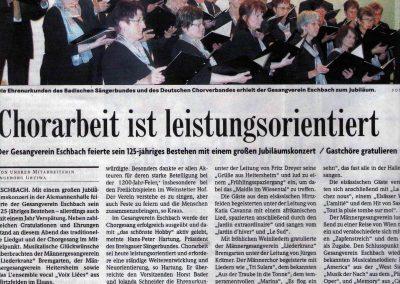 Badische Zeitung Oktober 2008