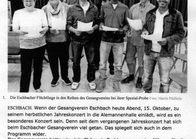 Badische Zeitung Oktober 2016